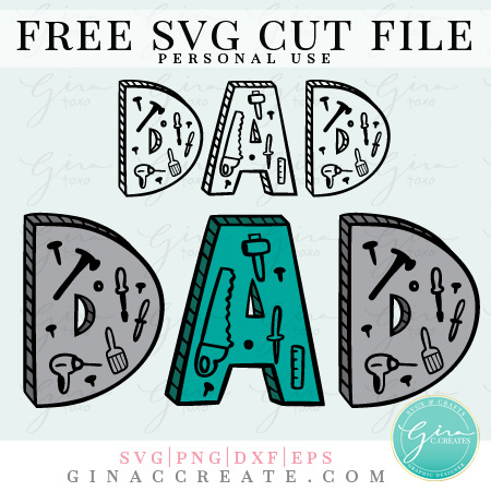 father's day svg, dad svg, tools svg, father's day craft