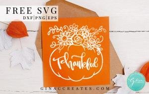 free svg thankful pumpkin fall crafts