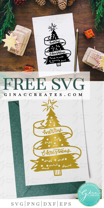 Christmas Tree SVG Cut File