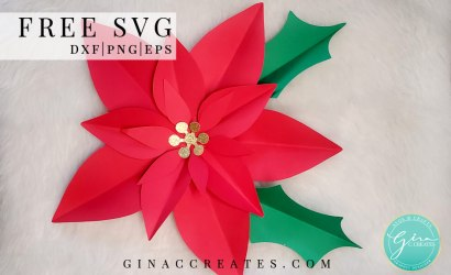 How to make a Paper Flower Poinsettia