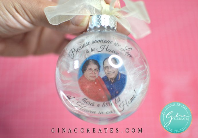 free svg template memorial ornament, someone we love is in heaven svg