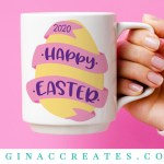 happy easter free svg cut file 2020