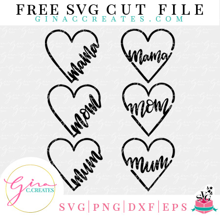mother's day free svg cut file mama mom mum