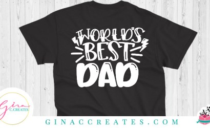 World's Best Dad Free SVG Cut File