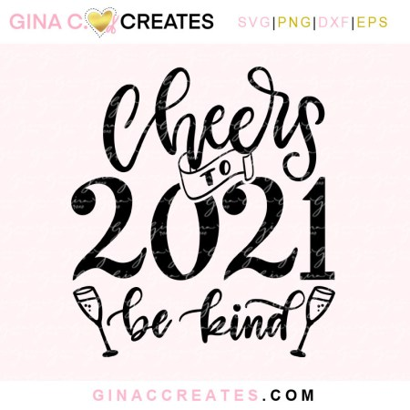 new year 2021 free svg