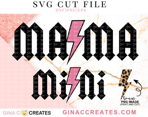 acda Mama and Mini SVG
