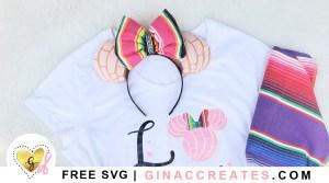 diy concha minnie mouse ears free pattern Disneyland ideas