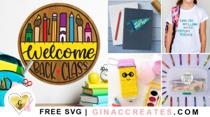 free back to school svg cut files