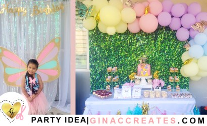 Butterfly 4th Birthday Party Ideas