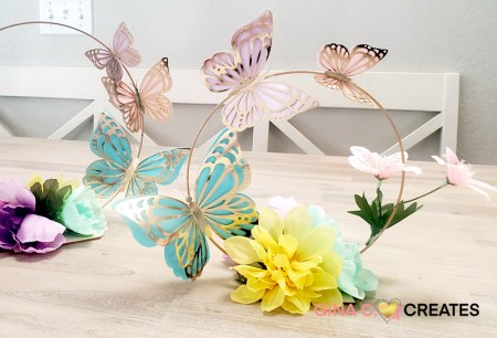 butterfly party centerpieces
