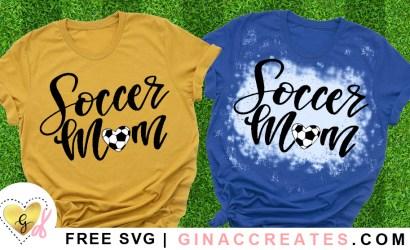 Soccer Mom Heart Free SVG Cut File