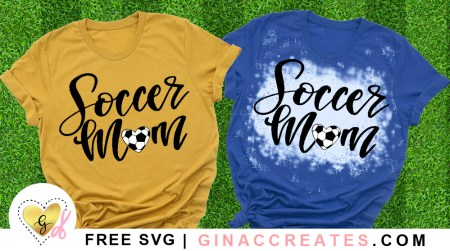 free soccer mom Heart SVG