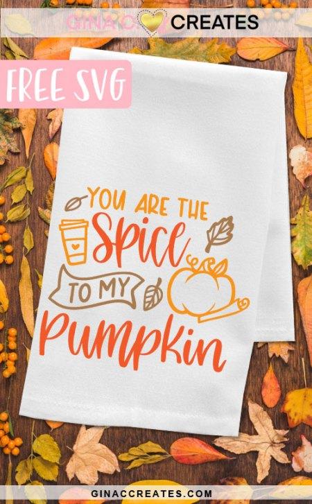 pumpkin spice free svg