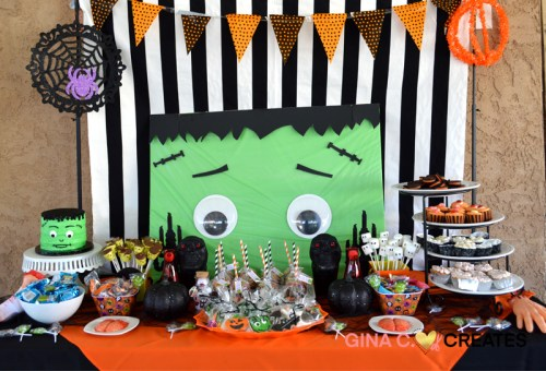 Frankenstein halloween party ideas