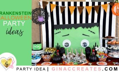 Frankenstein Halloween Birthday Party Ideas