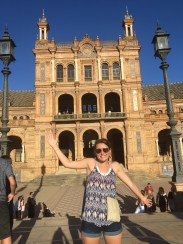 La Plaza España was a breathtaking sight which we arrived to by horse carriage in Sevilla, Spain.
