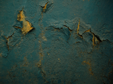 cracking paint on a wall