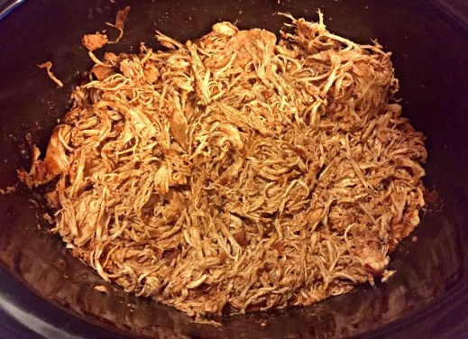 Crockpot Chicken Taco Meat