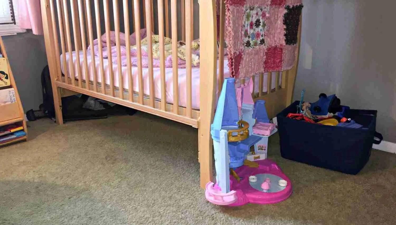 kids bedroom Konmari Declutter
