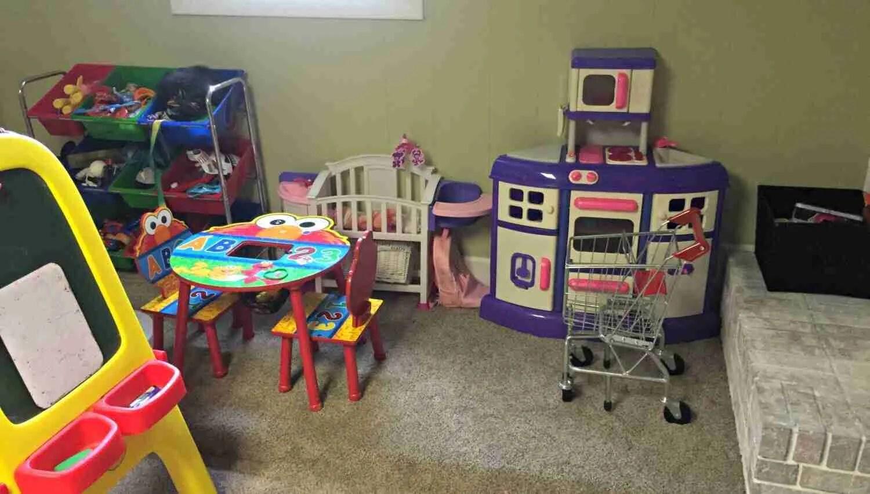 Toy Room KonMari Declutter