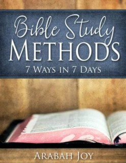 Bible Study Methods Review Arabah Joy