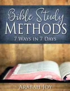 Bible Study Methods Review Arabah Joy