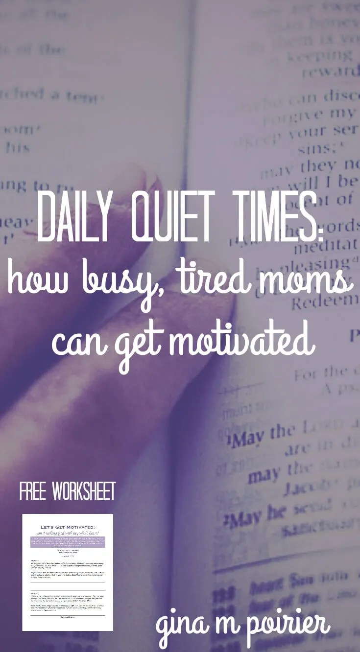 Daily Quiet Times | Devotions for Moms