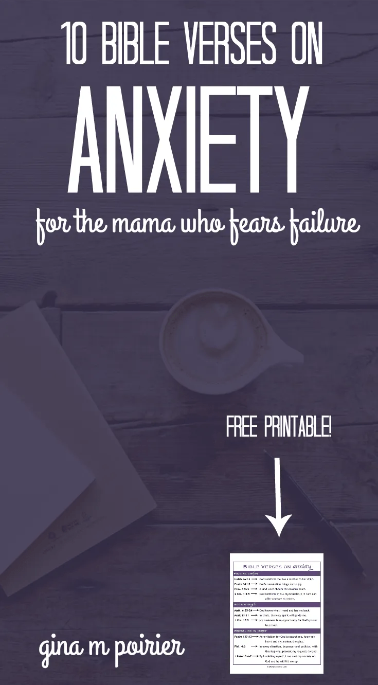 Bible Verses about Anxiety | Encouragement for Moms