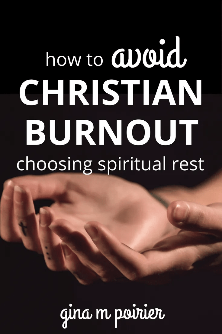 Christian Burnout | Spiritual Rest | Sabbath | Self-Care