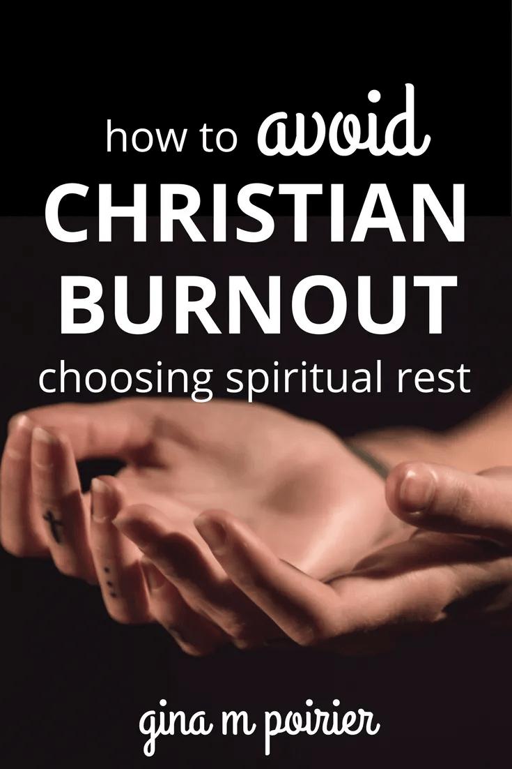 Christian Burnout | Spiritual Rest | Sabbath | Self-Care