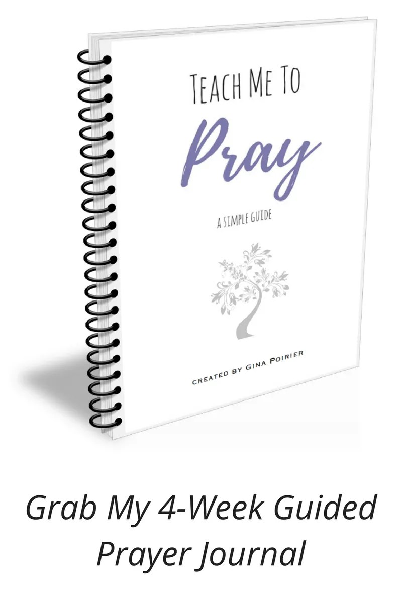 4-Week Guided Prayer Journal Teach Me To Pray