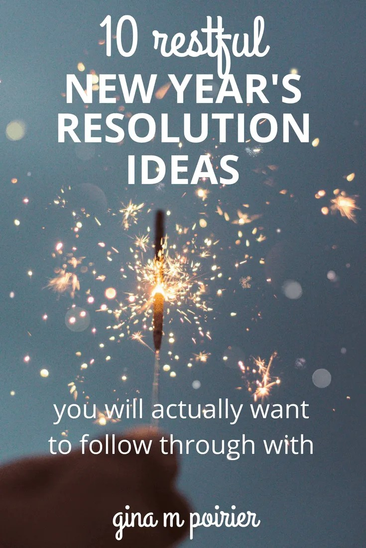 Christian New Year's Resolution Ideas | New Year Resolution List