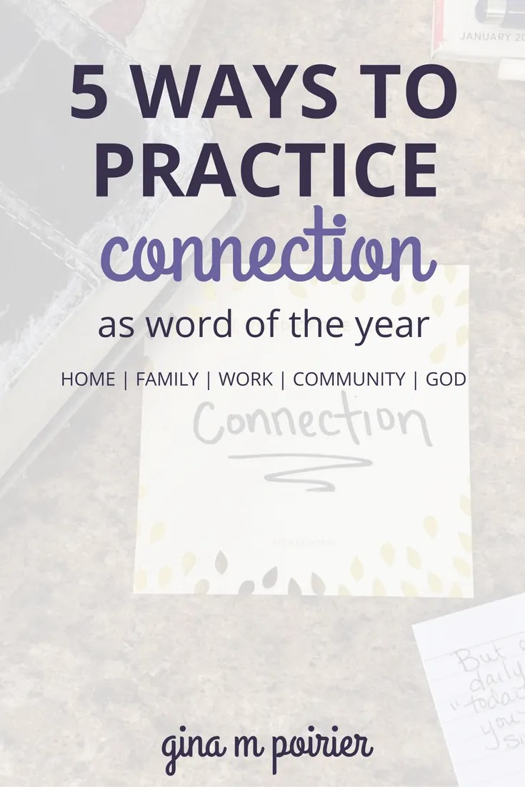 Word of the Year Ideas | Christian Inspiration | How To Connect with Your Kids