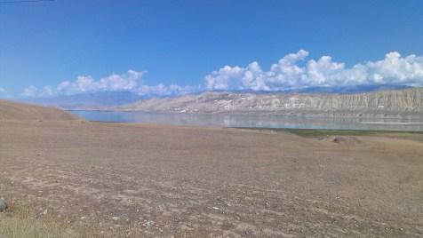"""Lake Toktogul (well, non-tautologically speaking, Lake Tokto,""""gul"""" meaning """"lake"""")"""