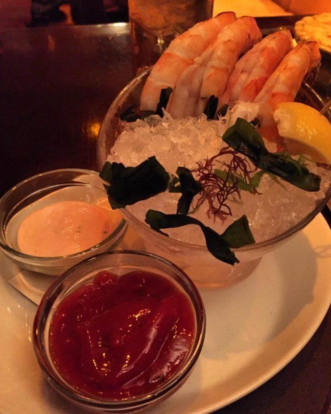 Jumbo white shrimp!