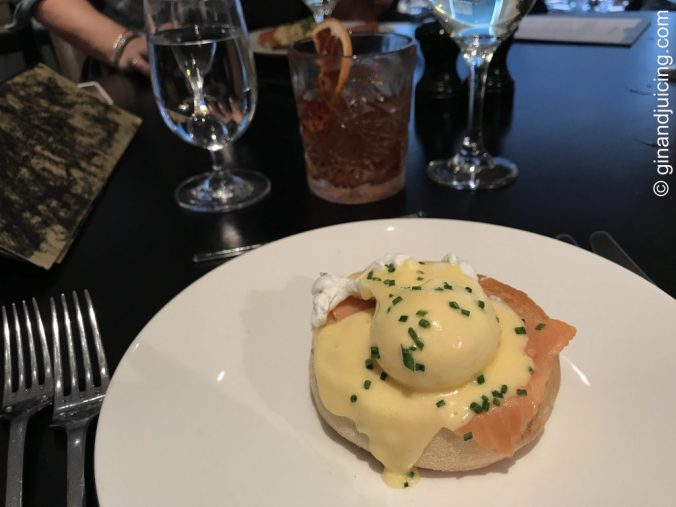 Small Eggs Royale at Avenue restaurant St James's