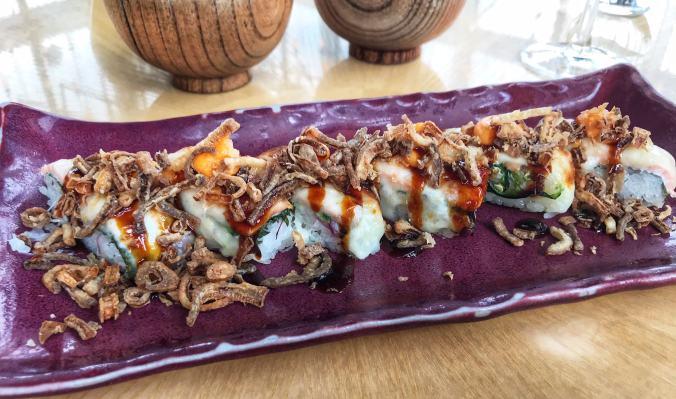El Topo Samba Roll at Sushi Samba