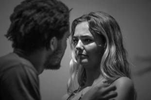 Olivier Huband and Isobel Moulder as Hamlet and Ophelia