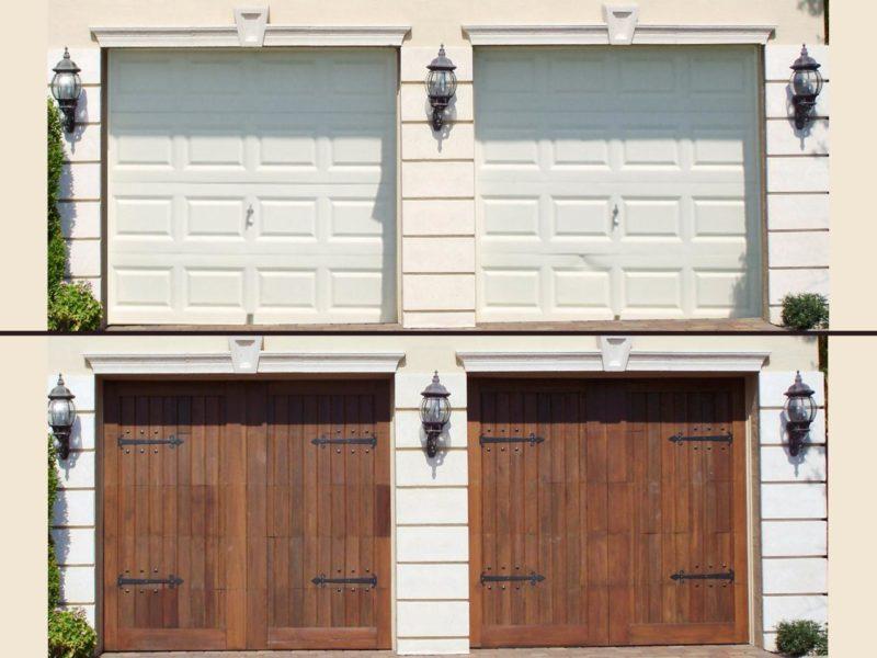15 Best Garage Paint Ideas to Makeover Your Old Garage on Garage Door Ideas  id=25774