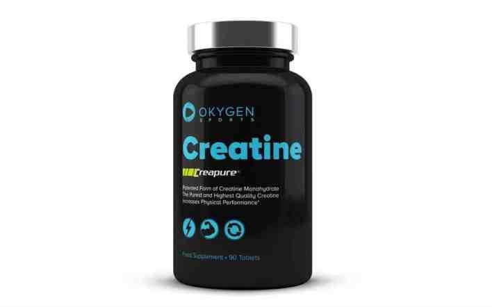 Okygen creatina em comprimidos