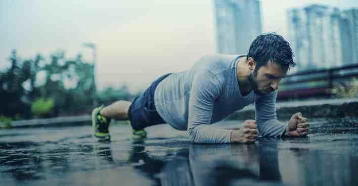 ideales Training im Fitnessstudio