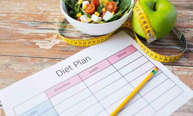 construir uma dieta