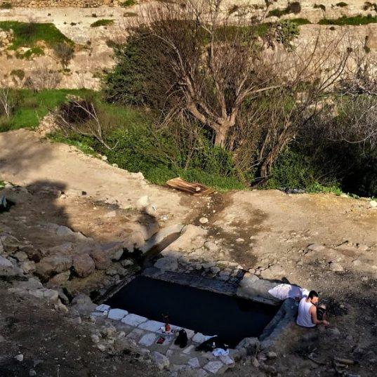 מסלול בחורבות הכפר וולאגה - רכס לבן בהרי ירושלים - עין אל בלד