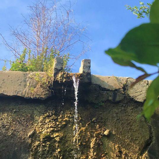 בוסתן כיאט - אחת מתעלות המים