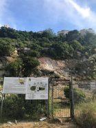 נחל שיח - המנזר מגודר וסגור לכניסה