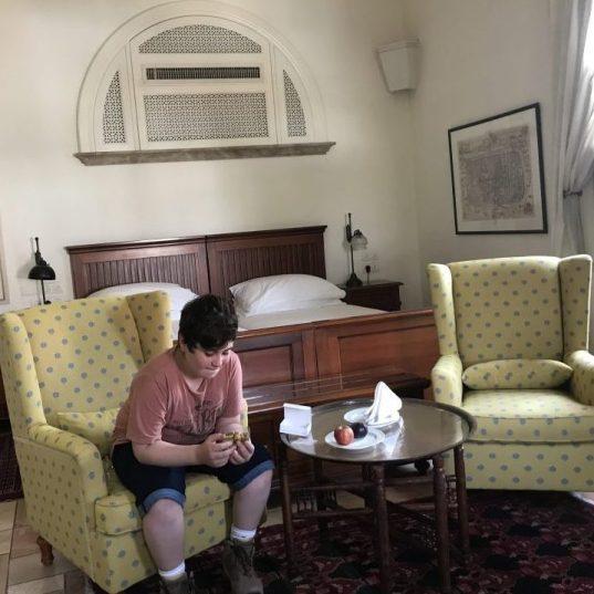 חדר פאשה דלוקס, במלון האמריקן קולוני
