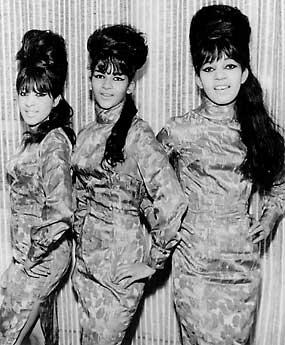 (L-R) Ronnie Bennett, Nedra Talley, Estelle Bennett