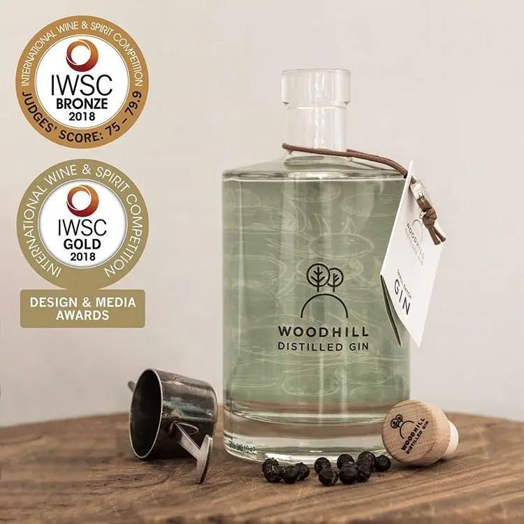 Stemningsbillede Woodhill Destilled Gin