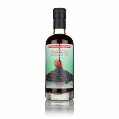 Billede til køb af strawberry og balsamico gin