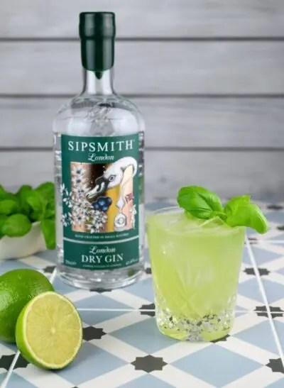 Billede af cocktail med Sipsmith